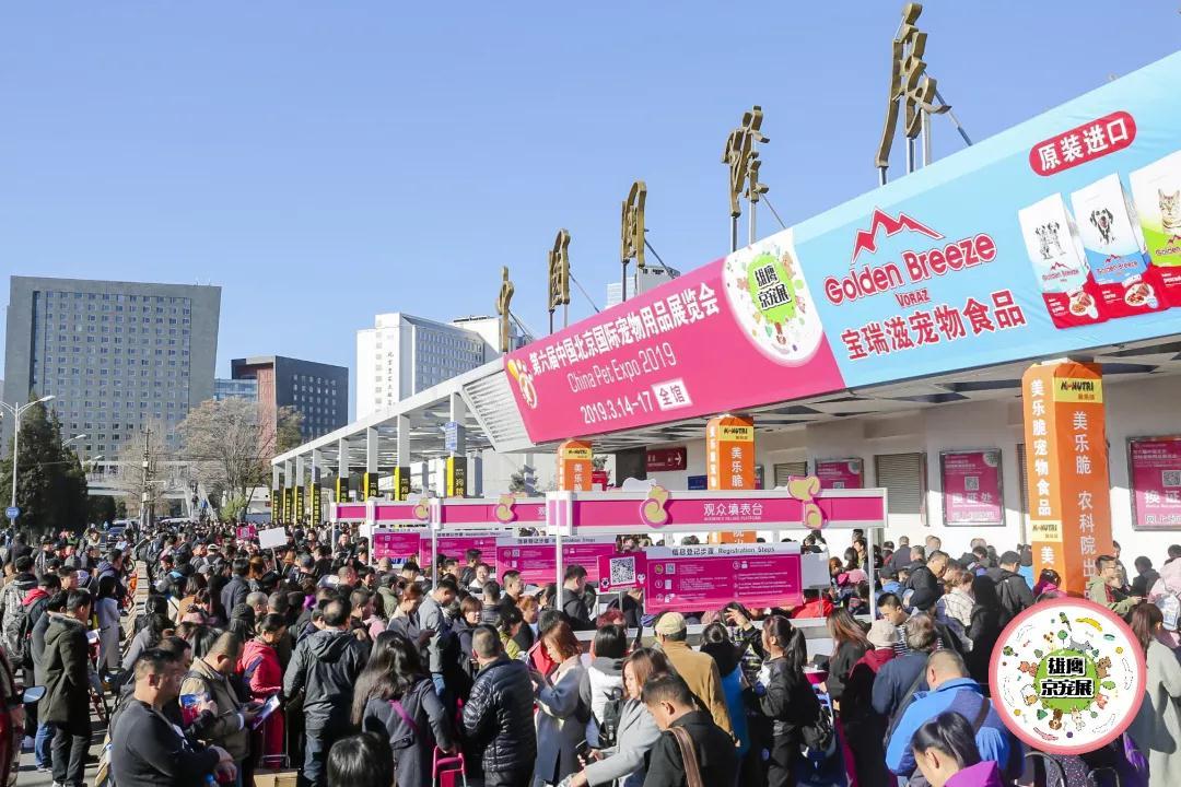回顾:第六届雄鹰京宠展14日盛大开幕!开展第一天人气爆棚!